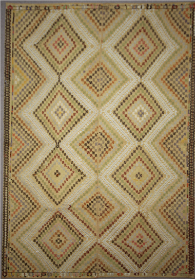 Beautiful handmade Turkish Cicim Rugs R7806