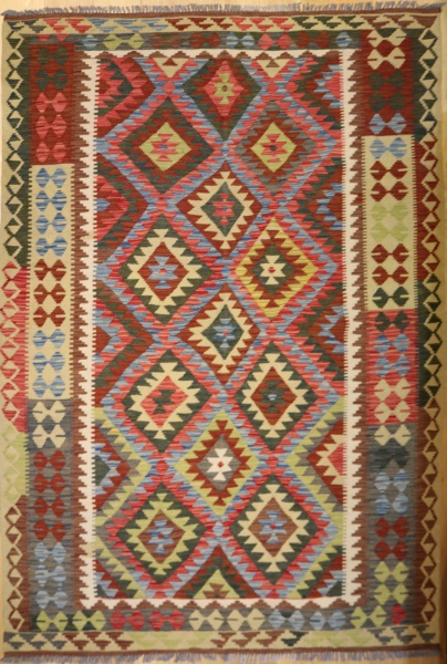 R8854 Beautiful New Afghan Kilim Rugs