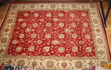 Beautiful Persian Ziegler Carpet R4997
