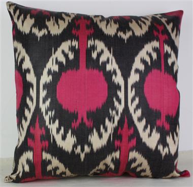 i16 Beautiful Silk Ikat Cushion Covers