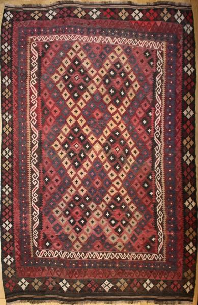 R8792 Beautiful Vintage Afghan Kilim Rugs