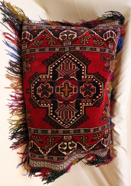 R8394 Afghan Carpet Floor Cushion Cover