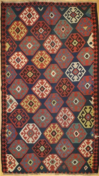 R2908 Caucasian Kazak Kilim