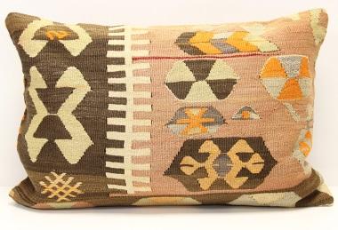 D308 Turkish Kilim Pillow Cover