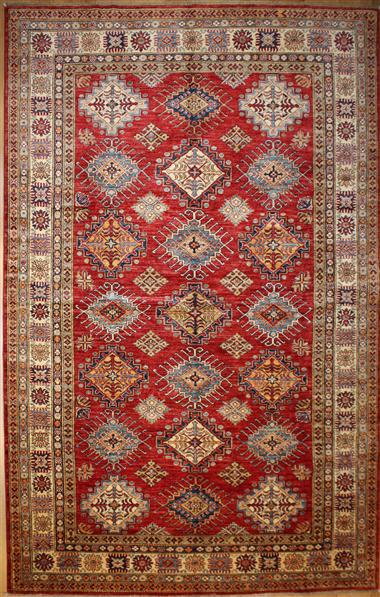R8380 Decorative Handmade Kazak Carpets