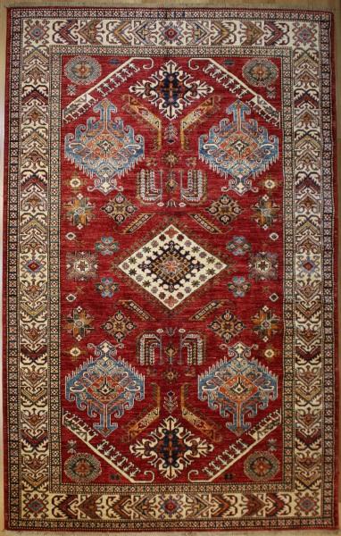 R8382 Decorative Handmade Kazak Carpets
