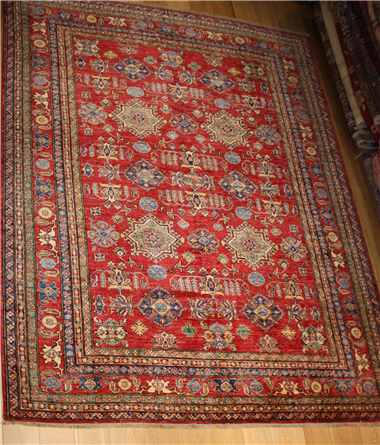 R8383 Decorative Handmade Kazak Carpets