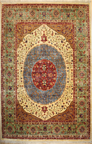 R8367 Fine Persian Ziegler Carpet