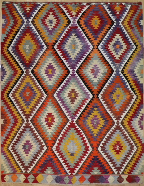 R8765 Flat Weave Kilim rugs