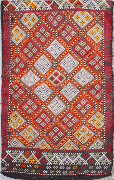 R5465 Kilim Floor Cushion Cover
