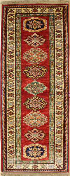R8291 Gorgeous Caucasian Kazak Carpet Runners