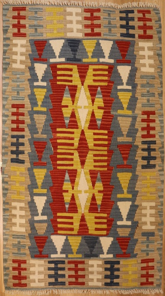 R3606 Hand Woven New Kilim Rugs