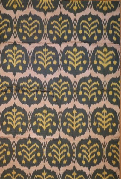 R8321 Hand woven silk Ikat Textiles