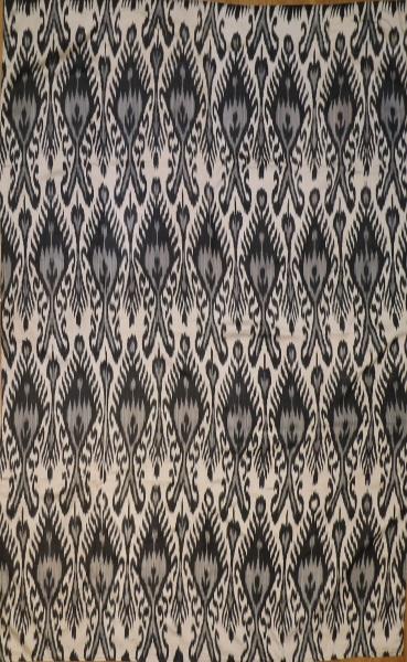 R8322 Hand Woven Silk Ikat Textiles