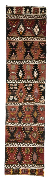 R7635 Hand Woven Turkish Kilim Runner