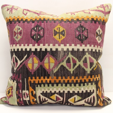 XL405 Handmade Anatolian Kilim Cushion Cover