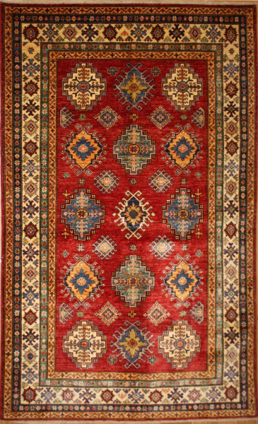 R8834 Handmade Transitional Kazak Rugs