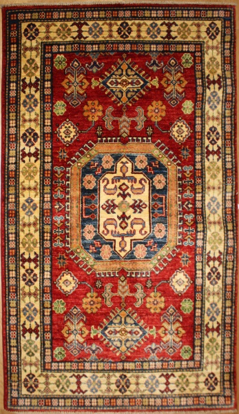 R8835 Handmade Transitional Kazak Rugs