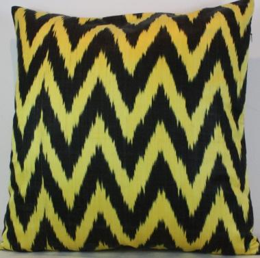 i17 Ikat cushion cover