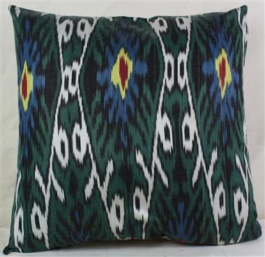 i32 Ikat cushion cover