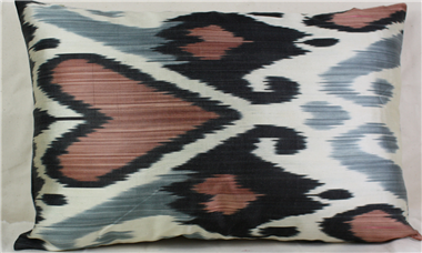 i48 Ikat Handwoven Decorative Pillow Cushion Cover