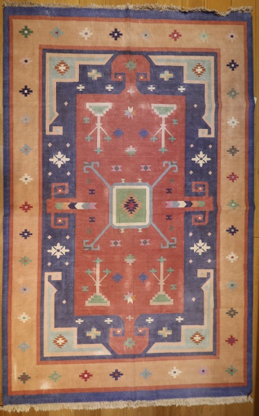 R8625 Indian Dhurrie Kilim Rugs