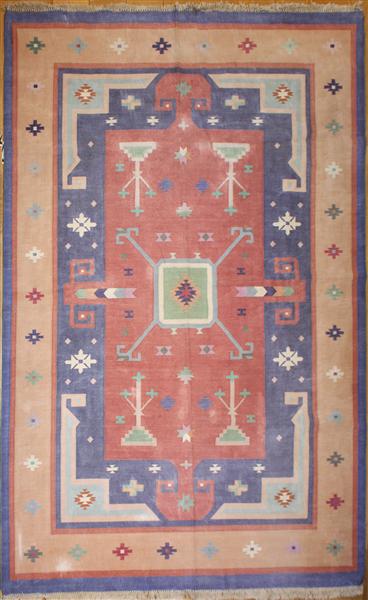 Indian Dhurrie Kilim Rugs R8625