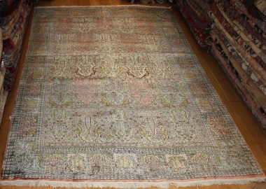 R8627 Indian Kashmir silk Carpets