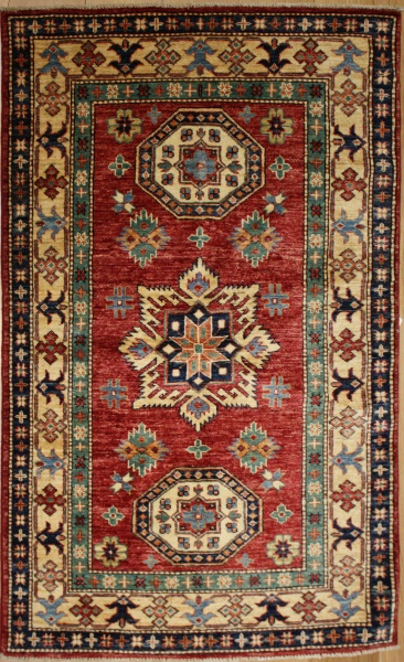 R8830 Kazak Traditional Wool  Rugs