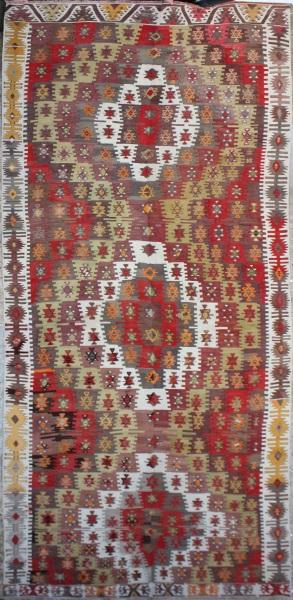 R6857 Turkish Vintage Kilim Rug