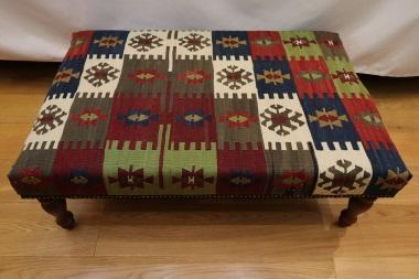 R3997 Kilim Stool Table
