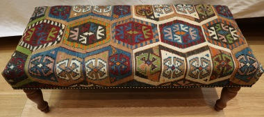 Large Bench Kilim Stool R4012