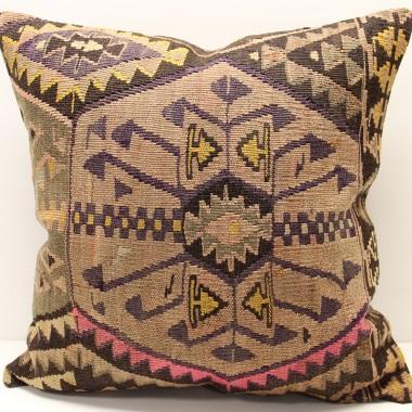 XL387 Large Turkish Kilim Cushion Cover
