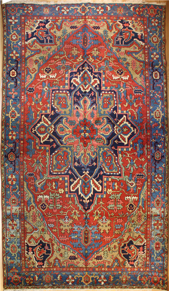 R4815 Persian Heriz Carpet
