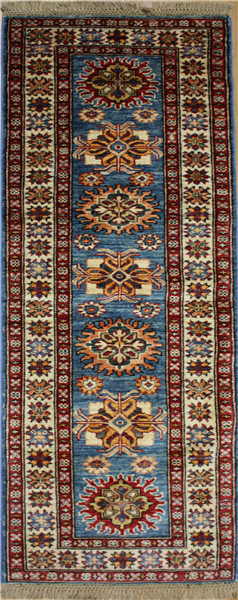 R8289 Gorgeous Caucasian Kazak Carpet Runners
