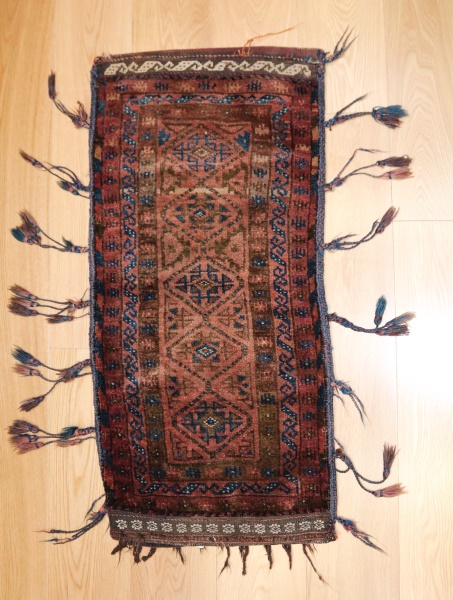 R9023 Persian Baluch Carpet Floor Cushion Covers