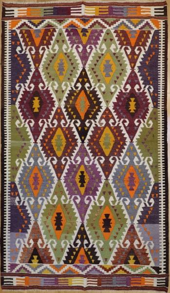 R8720 Rug Store Vintage Turkish Barak Kilim Rugs