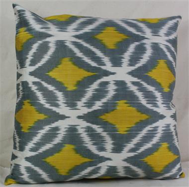 i2 Silk Ikat Cushion Cover