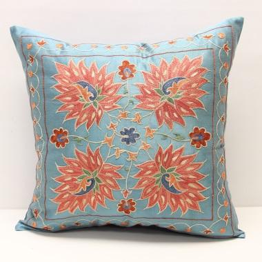 C1 Silk Suzani Cushion Cover