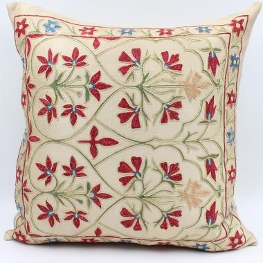 C36 Silk Suzani Cushion Cover
