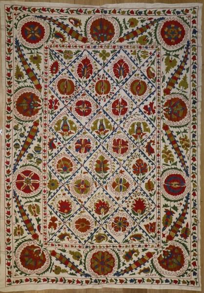 R4889 Silk Suzani Embroidery