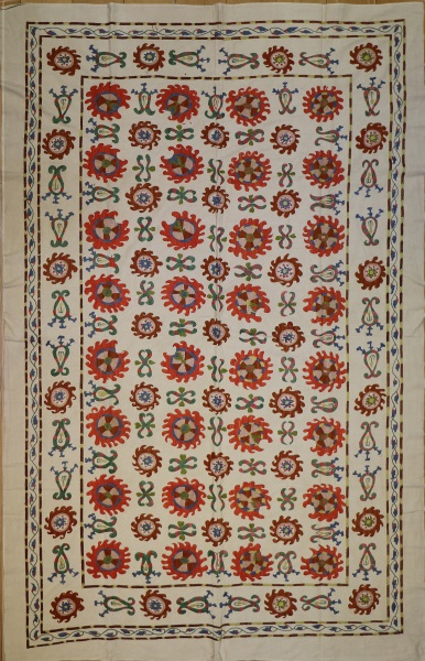 R5009 Silk Suzani Embroidery