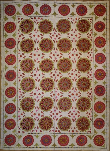 R5011 Silk Suzani Embroidery