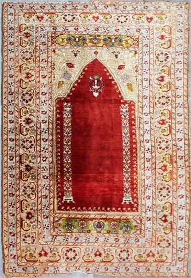 R6934 Silk Turkish Rug