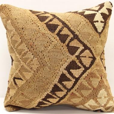 M401 Turkish Anatolian Hand Woven Kilim Cushion Cover