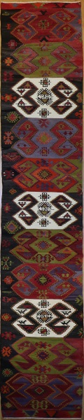 Turkish Anatolian Kilim Runner R8044