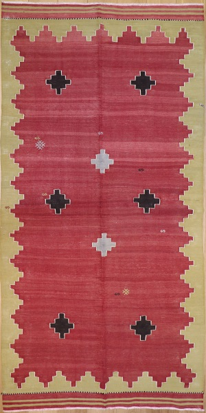 R7058 Turkish Avonya Kilim Rug