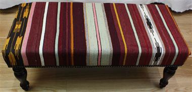 Turkish Bench Kilim Stool R4030