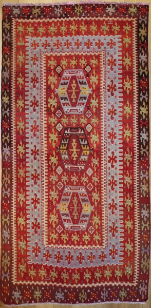 R6774 Turkish Esme Kilim