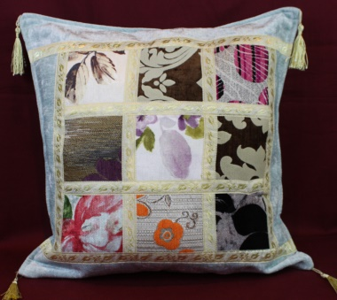 T1 Turkish fabric Patchwork Cushion Covers